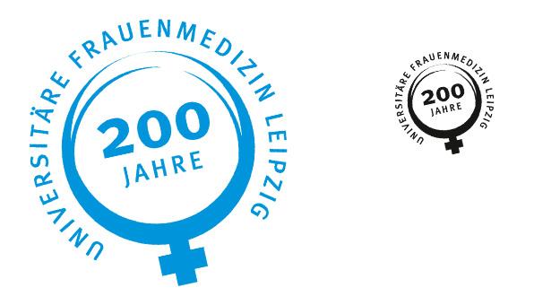 UKL, Jubiläumsmarke Frauenmedizin (Entwurf)
