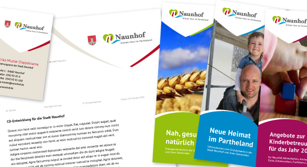 Naunhof-CD Entwicklung, Drucksachen