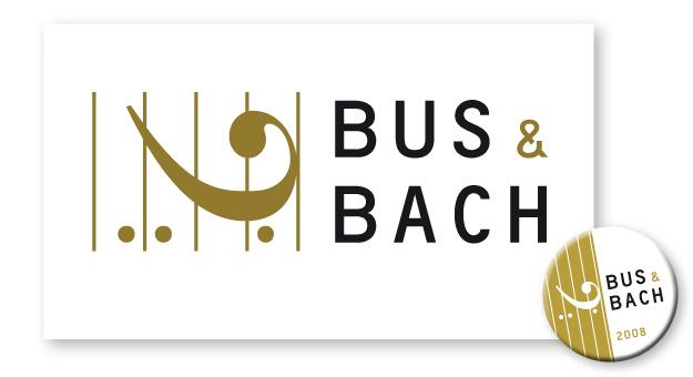 Bus & Bach, Logo und Button