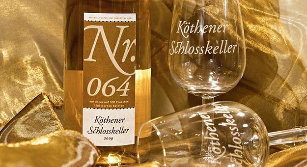 Schlosskeller, Etikett- und Markenentwicklung