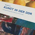Entwurf Katalogkonzept, Kunst in der DDR