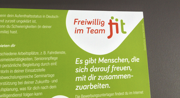 fit-Logo, Flyer